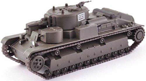 Eaglemoss Militär Panzermodell UDSSR Russischer Panzer 2. Weltkrieg Kampfpanzer T 28 2 1:72 ca.10 cm Metall