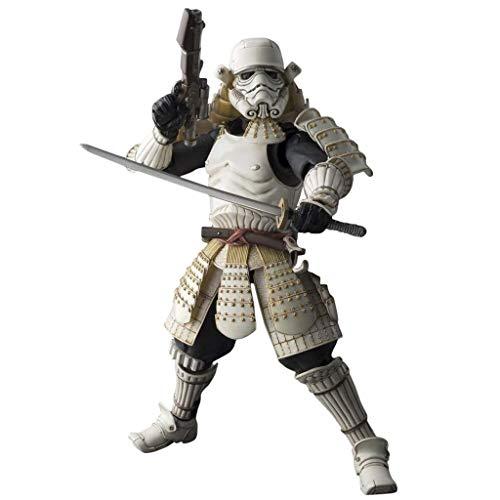 Siyushop Filmrealisierung Kaiserliche Armee Mobile Infanterie Star Wars Actionfigur Krieger Styling Actionfigur Modelle Japanischer Samurai-Stil Japanischer Samurai-Modell Kindergeschenk-Serie Modell