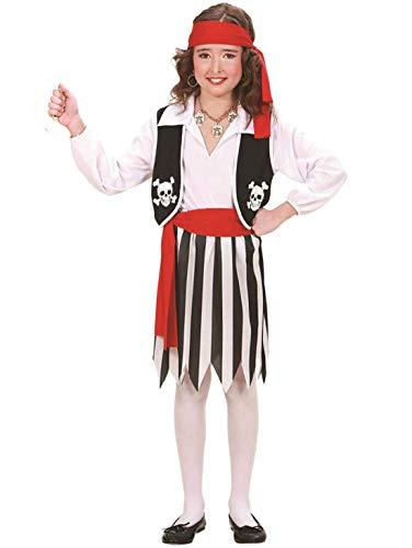 Captain Jack Sparrow Kostüm Kid's - Islander Fashions Jungen M�dchen Piraten Kost�m Kinderbuchwoche Halloween Accessoire (M�dchenkost�m gro�)