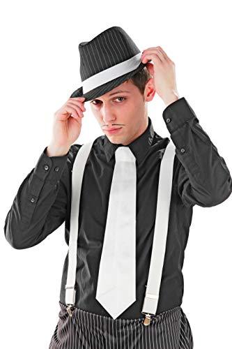 Foxxeo 35021 | 20er Jahre Mafia Hosenträger, -