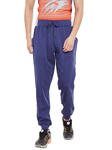 PERF Men Collegiate Navy Regular Fit Yoga Track Pant