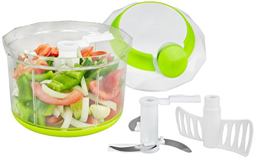 brieftons-quickpull-food-chopper-powerful-manual-handheld-chopper-mixer-blender-950-ml-with-3-recipe