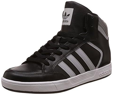 adidas Herren Varial Mid Kurzschaft Stiefel, Schwarz (Core Black/lgh Solid