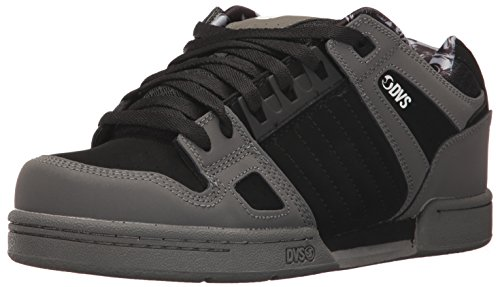 DVS Shoes Celsius, Sneaker Uomo Grau (Charcoal Black Nubuck)