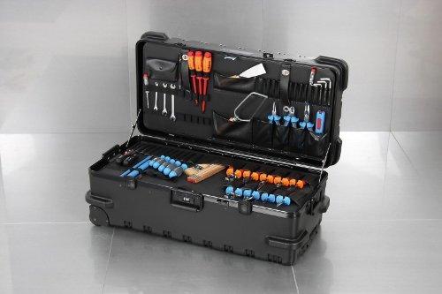 XXL-Werkzeugkoffer mit Trolley, Innenmaß:805x310x370mm
