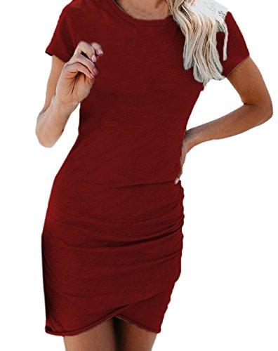 67b600d4926b Kleider Rotwein kaufen
