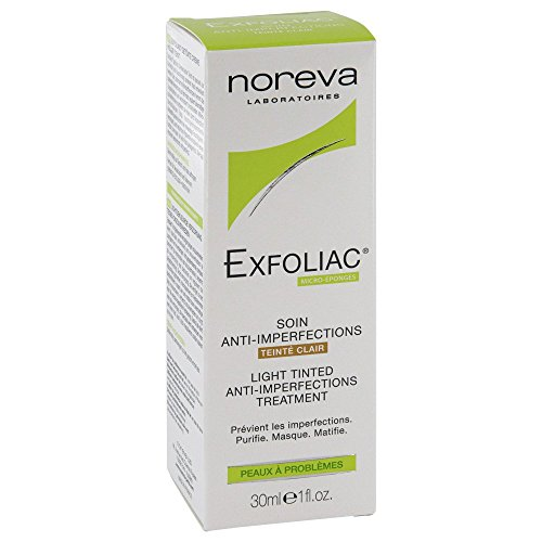 Noreva Exfoliac Creme getönt heller Teint, 30 ml