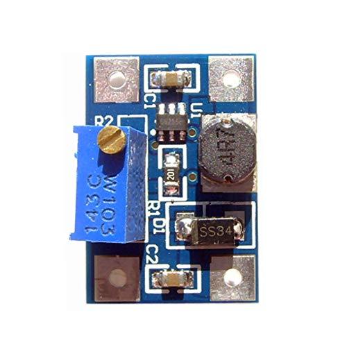 Lorsoul Ajustable Módulo DC-DC Fuente de alimentación Boost de tensión del convertidor...