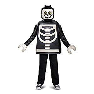 Lego Skeleton Classic Costume (Medium, 7-8 Years)