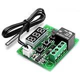 Robotbanao W1209-50~100 Digital Temperature Controller 12V +Sensor Thermostat