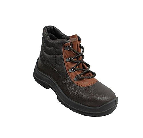 TuF berufsschuhe businessschuhe chaussures de sécurité s1P chaussures de trekking-marron Marron - Marron