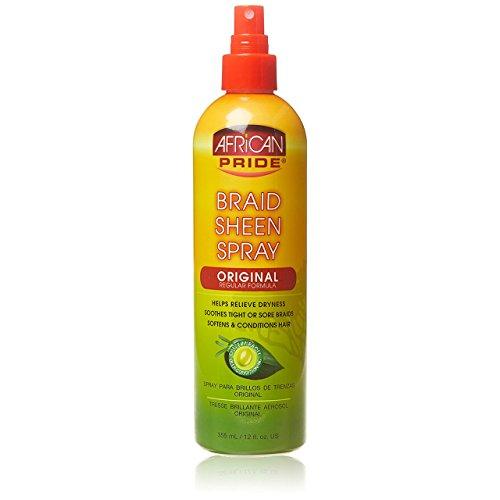 African Pride BRAID SHEEN SPRAY - original 355ml - Glanzspray, Sheenspray