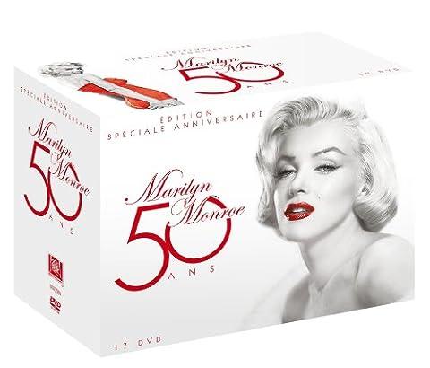 Marilyn Monroe 50 ans, Edition Spéciale Anniversaire - Coffret 17 films [Édition Spéciale Anniversaire]