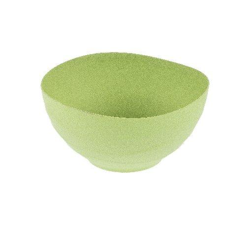 Magu Schüssel Natur-Design 23cm in Line grün, Bambusfasern, Getreidestärke, Holzfaser, 28 x 28 x 8 cm,