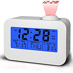 Evana Led Display 806 Digital Talking Projection Clock With Sound, Alarm, Calendar, Temperature