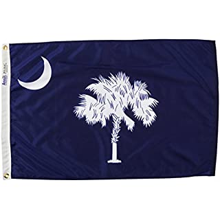 Annin Flagmakers South Carolina State Flag, 2 by 3'
