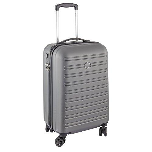 DELSEY PARIS SEGUR Koffer, 55 cm, 48 liters, Grau (Gris)