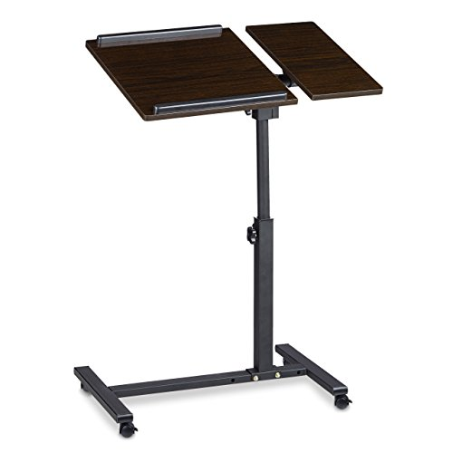 relaxdays-height-adjustable-notebook-stand-side-table-laptop-desk-wood-black-95-x-60-x-40-cm