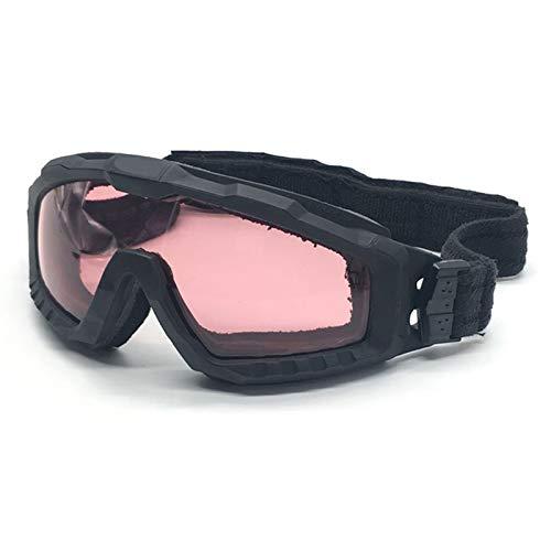 Schutzbrille Getönt Zwei In Einer Brille Explosionssichere Kugelsichere Armee Brille Taktische Brille Black Damen Herren