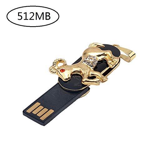 samLIKE Funny Memory Stick Sternbild Flash Drive mit Schlüsselring 512MB-64GB Externer Expansion Speicherstick USB Stick, für PC/Laptop und andere USB-Geräte (512MB, Widder)