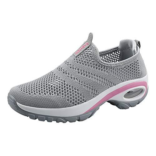 Sneakers Scarpe da Corsa da Donna Smorzamento Scarpe Sportive Traspiranti Antiscivolo Sneakers da Esterno Sneaker Leggera Scarpe a Dondolo per Donna Sneakers Scarpe Leggere