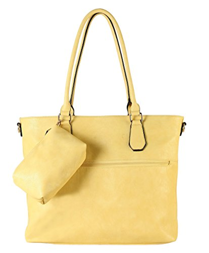 diophy-diaper-bag-pu-leather-weekender-extra-large-tote-with-baby-changing-pad-yellow