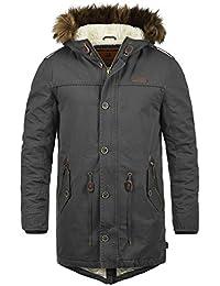 INDICODE Polar - Giacca invernale da Uomo, taglia:S, colore:Dark Grey (910)