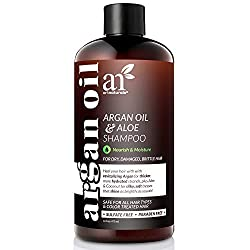 ArtNaturals Pure Organic Argan Oil Shampoo - (12 Oz / 354 ml) - For daily hair care - Suitable for every hair type - Sulfate and silicone-free