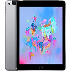 Apple iPad (Wi‑Fi + Cellular, 32Go) - Gris sidéral (Dernier Modèle)