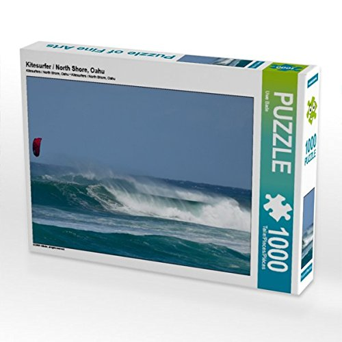 Kitesurfer / North Shore, Oahu 1000 Teile Puzzle quer -