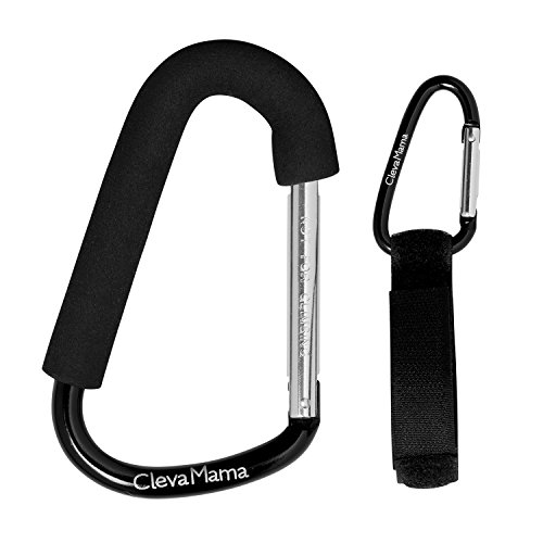 ClevaMama ClevaHooks Stroller Hooks, Pack of 2 41fVqyNj59L