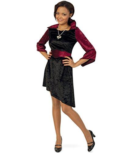 Missy Vamp Kleid mit Gürtel 152 Halloween Kostüm Kinder Teenie Mädchen