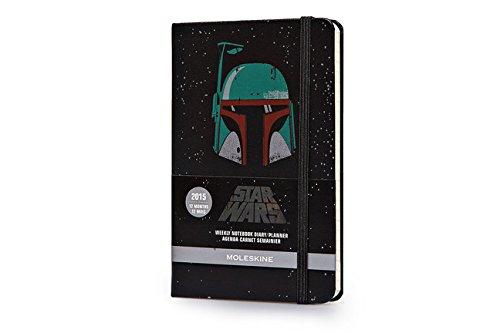 Moleskine star wars 2015 weekly notebook diary/planner, black