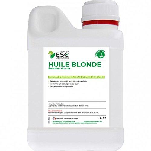 ESC Mountainbiken–Öl Blonde–Pflege des Leder–500ml (Foto in 1Liter)