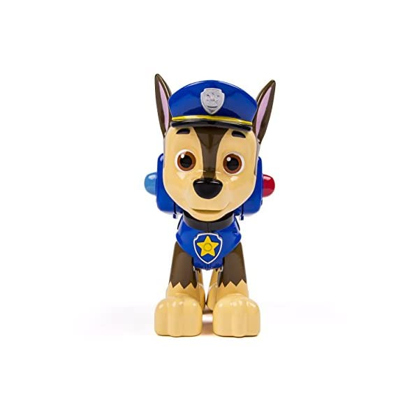 Paw Patrol Pup Acción Jumbo - Chase 5