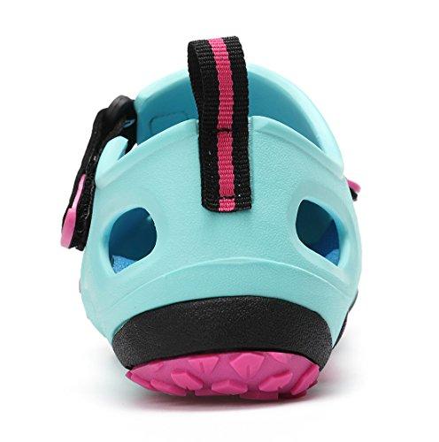 Sandali Esterni Unisex Sixspace Scarpe Da Trekking Scarpe Traspiranti Per Donna Uomo Bambini Blu
