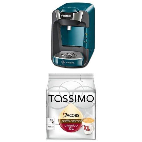 Bosch TAS3205 Tassimo T32 Suny Multi-Getränke-Automat Suny mit Tassimo Jacobs Caffè Crema classico...