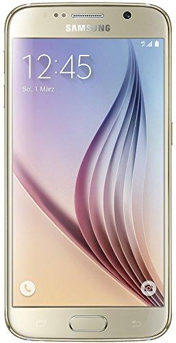 Samsung Galaxy S6 Smartphone (5,1 Zoll (12,9 cm) Touch-Display, 32 GB Speicher, Android 5.0) gold (Zertifiziert und Generalüberholt)