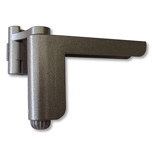 Mini-Türschließer silber Aufsteck Türschließer Mini-Türschließer Zimmertürschließer - Mini-türschließer