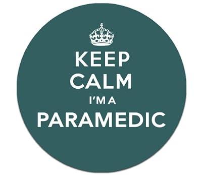 Keep Calm I'm a Paramedic Magnetic Tax Disc Holder