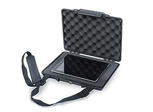 Étui étanche avec moussepourtablette Étanchéité IP67Résiste à la poussière, aux chocs, à l'écrasement Compatible avec iPad et Samsung Galaxy