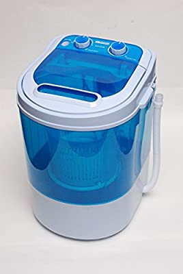 PORTABLE 230V 3KG MINI WASHING MACHINE IDEAL FOR CARAVAN MOTORHOMES + SPIN DRYER FUNCTION