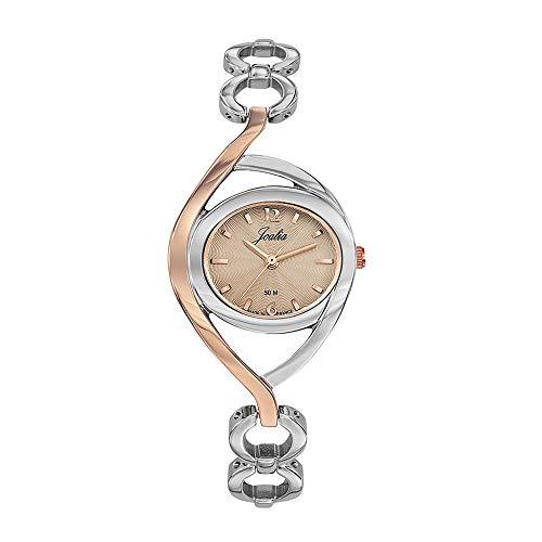 Joalia Femme Analogique Quartz Montre avec Bracelet en Laiton 634021