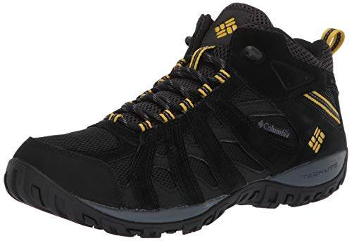 Columbia Men's Redmond Mid Waterproof Boot, Breathable, High-Traction Grip Hiking