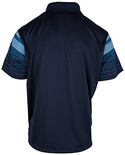 Polohemd Poloshirt für Herren von SOUNON, verschiedene Farben - Größe M bis 5XL Dunkelblau (M2)