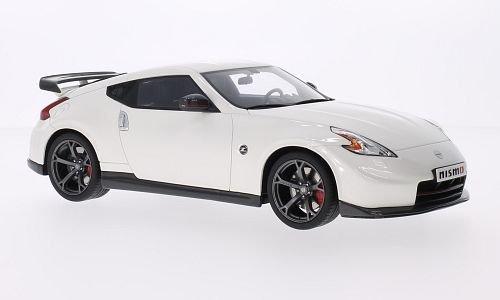 Preisvergleich Produktbild Nissan 370Z Nismo, metallic-weiss, Modellauto, Fertigmodell, GT Spirit 1:18