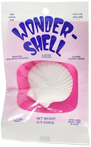 Weco Product Wonder Shell Natural Minerals Removes Clorines Water Purifier Large - Mineral Purifier