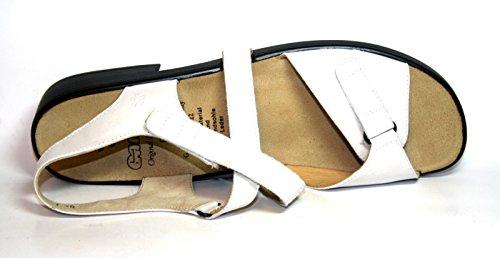 Ganter Heike 5-2032201 Damen Sandalen Weite F Weiß