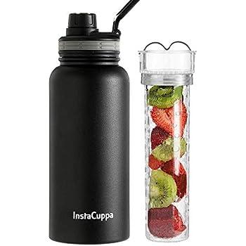 Buy Instacuppa Thermos Steel Fruit Infuser Water Bottle 1