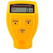 Mopei Digital Revestimiento de Pintura Medidor de Espesor, 0 ~ 1.80mm / 0 ~ 71.0 mil Medidor de Espesores de Pintura del Probador del Metro del Coche - Coating Paint Thickness Gauge Meter Tester